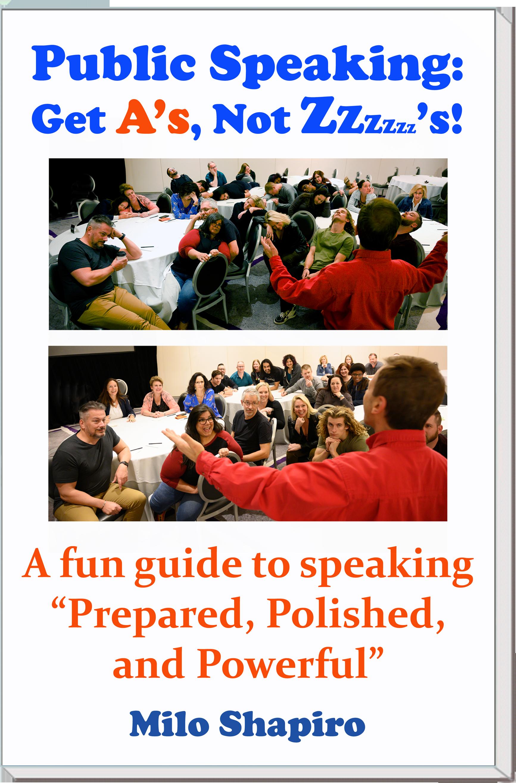 Milo's book on Public Speaking Skills