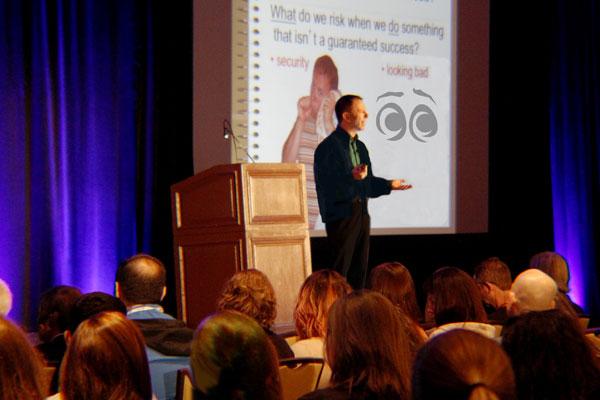 conference speaker, Milo Shapiro