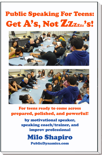 public speaking teen book