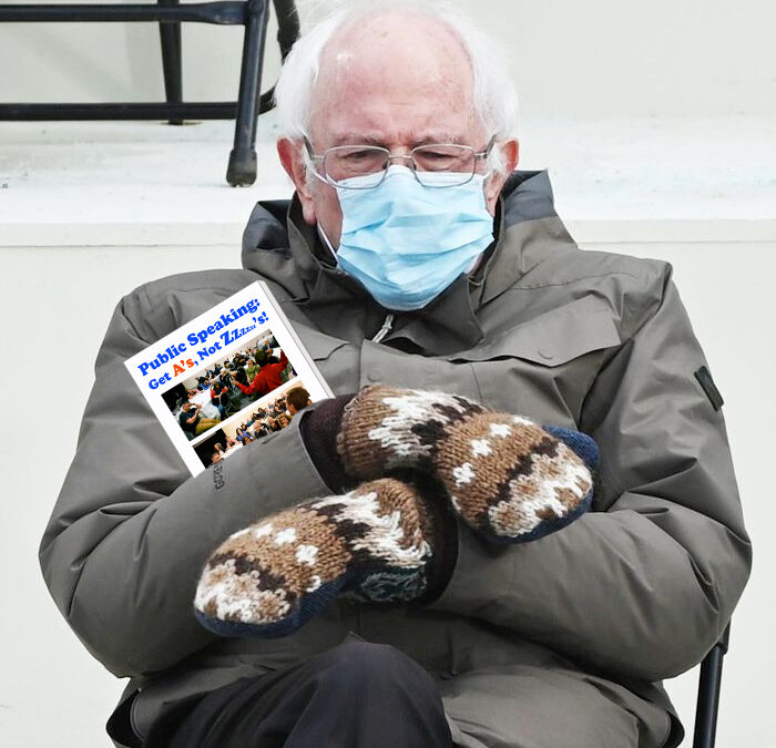 Bernie's got good reading taste!